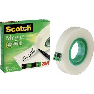 3M Scotch Σελοτεϊπ Magic Γαλακτερό 12mm x 33m