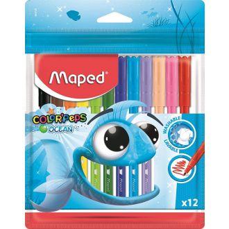 Maped Μαρκαδόροι Color'Peps Ocean 12 χρώματα 845720