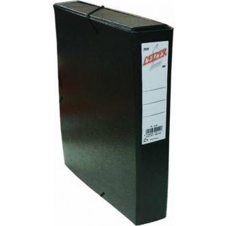 Leizer κουτί λάστιχο Fiber 25x35 Ράχη 5 εκ. Μαύρο (822.205B)