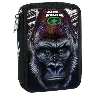 BMU Κασετίνα διπλή No Fear Gorilla 347-69100