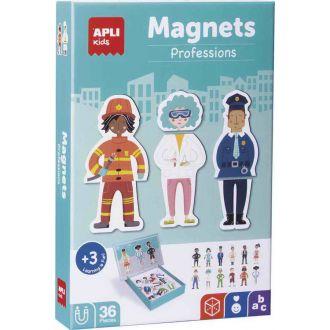APLI Kids Μαγνητικό puzzle Επαγγέλματα 36 κομμάτια