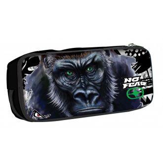 BMU Κασετίνα βαρελάκι οβάλ No Fear - Gorilla 347-69141