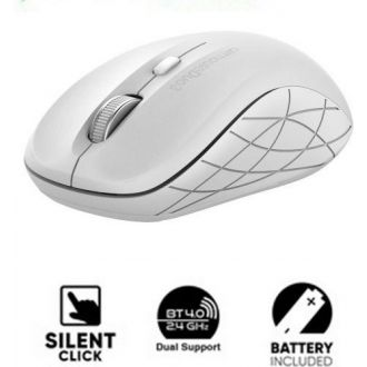 Alcatroz BLUETOOTH 4.0/wireless mouse duo 3 Silent White