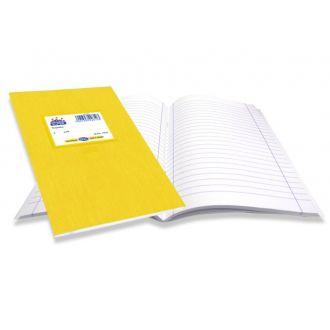 Skag Τετράδιο Super Διεθνές χρωματιστό 17x25 50Φ Κίτρινο 226103
