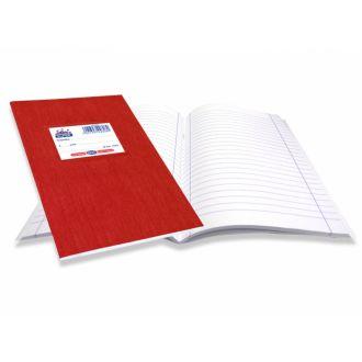 Skag Τετράδιο Super Διεθνές χρωματιστό 17x25 50Φ Κόκκινο 226080