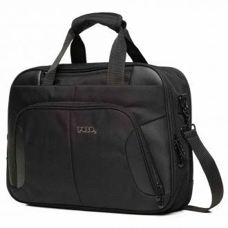Polo σακίδιο πλάτης briefcase Techero Μαύρη  9-07-161-02