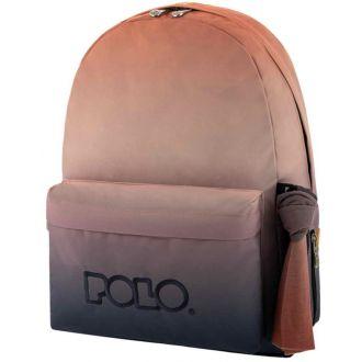 Polo Σακίδιο πλάτης Original Scarf Πολύχρωμο Κοραλί-Μπλε (2021)  (9-01-135-8085)