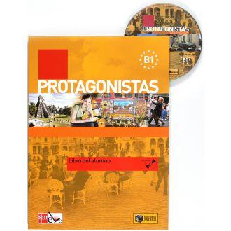 Protagonistas B1 – Libro del alumno με CD (2011)