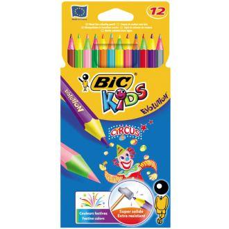 BIC Ξυλομπογιές Evolution Circus 12 Χρώματα 8957894