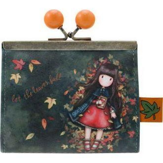Santoro Gorjuss clasp purse - Autumn leaves 972GJ01