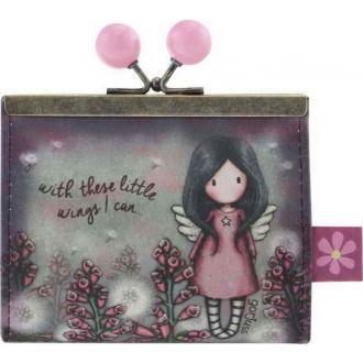 Santoro Gorjuss clasp purse - Little Wings  972GJ02