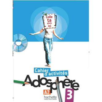 Adosphere 3 Cahier d' activites A2 + CD-ROM (2012)
