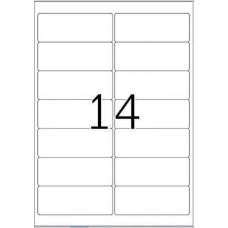 HERMA αυτοκόλλητες ετικέτες 99.1x38.1 100Φ No 4678