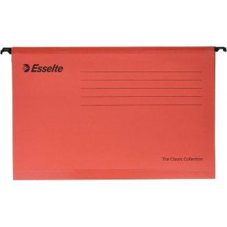 Esselte Κρεμαστοί φάκελοι Classic Ενισχυμένοι 25τμχ 4 Χρώματα 9033