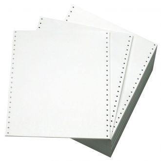 Χαρτί μηχανογράφησης 11x9.5 60gr 2 Φύλλων Λευκό - Κίτρινο