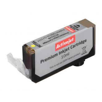 ActiveJet Μελάνι Canon CLI-521Y 10ml Yellow (AC-521YR)