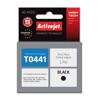 ActiveJet Μελάνι Epson T0441 17ml Black (AE-441N)
