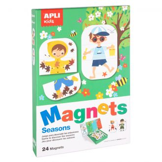 APLI Kids Μαγνητικό puzzle 4 εποχές 24 κομμάτια