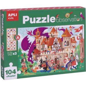 APLI puzzle κάστρο 104 κομμάτια