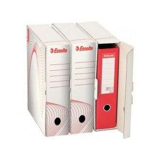 Esselte Κουτί αρχειοθέτησης Boxy 80 Χάρτινο Λευκό 128003
