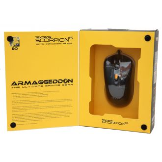 Armaggeddon Ποντίκι Gaming Scorpion 5 Black