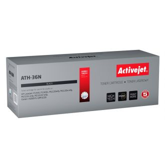 Activejet Toner HP CB436A Black 2000pgs (ATH-36N) (#36A)