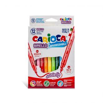 Carioca Μαρκαδόροι Birello Superwashable 12 χρώματα 41457