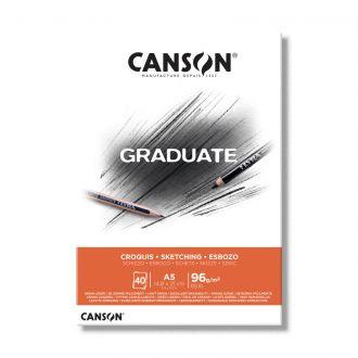 Canson μπλοκ Graduate croquis sketchbook A5 96gr 40φύλλα