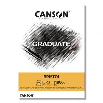Canson μπλοκ Graduate Bristol A4 180gr 20φύλλα