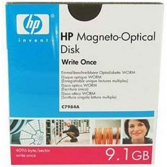 HP Magneto Optical Disk Write Once 9.1GB (C7984A)