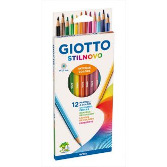 Giotto Ξυλομπογιές Stilnovo 12 χρώματα 0256500