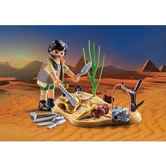 Playmobil 9359 Special Plus - Αρχαιολόγος με εργαλεία ανασκαφής.