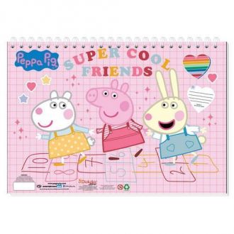 Must Μπλοκ Ζωγραφικής  23x33 Peppa Pig 40Φ. 000482522