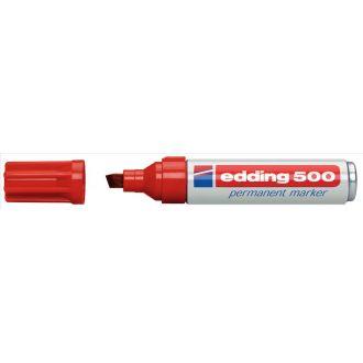 edding 500 Μαρκαδόρος ανεξίτηλος μεταλλικός Κόκκινο.