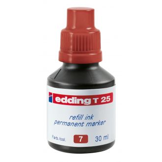edding Τ-25 Ανεξίτηλο μελάνι 30ml Καφέ