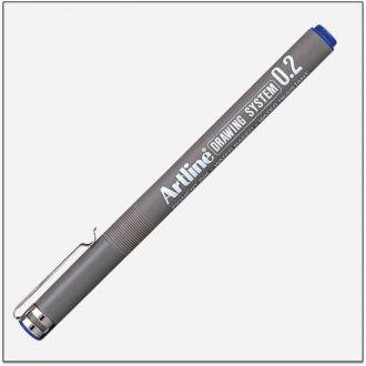 Artline drawing system Μαρκαδόρος σχεδίου 0.2mm Μπλέ (EK-232L)
