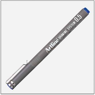 Artline drawing system Μαρκαδόρος σχεδίου 0.5mm Μπλέ (EK-235L)