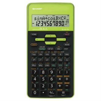 Sharp Επιστημονική αριθμομηχανή 10 ψηφίων 273 λειτουργίες Πράσινο EL-531-TH-GR