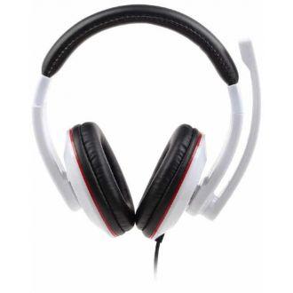 Gembird Ακουστικά 3,5mm jack stereo headset Glossy White (MHS-001-GW)