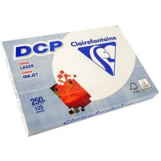 Clairefontaine DCP Χαρτί εκτύπωσης A4 250gr 125 Φύλλων Ivory (6832)