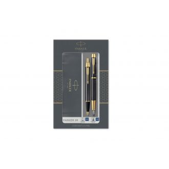 Parker Set Στυλό I.M. Duo Black Lacquer GT Fountain & Ballpoint (1158.9022.51)