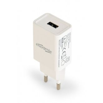 Energenie universal usb charger 2.1A White