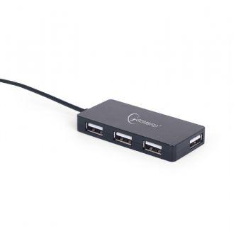 Gembird USB Hub 4-port Black (UHB-U2P4-03)