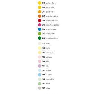 Favini Le Cirque Χρωματιστό χαρτί A4 80gr 500 Φύλλα Κίτρινο Παστέλ (100)