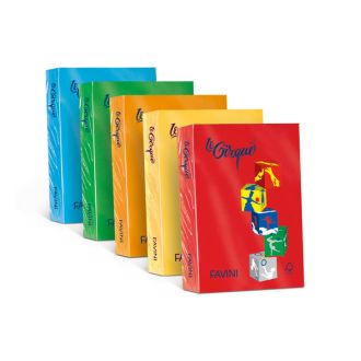 Favini Le Cirque Χρωματιστό χαρτί A4 80gr 500 Φύλλα Giallo Oro (201)