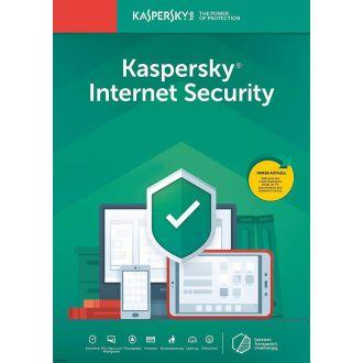 KASPERSKY INTERNET SECURITY 2019 3U/1Y