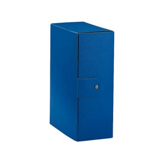 Esselte Κουτί αρχείου Eurobox με κουμπί Ράχη 10cm Μπλέ 390330050