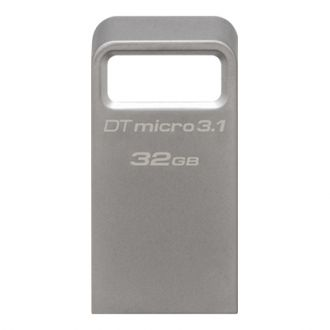 KINGSTON flash drive Data Traveler Micro 32GB usb 3.1 Silver (KINDTMC3/32GB)(DTMC3/32GB)