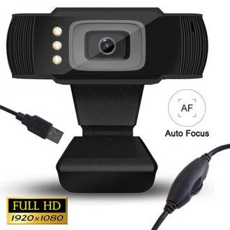 Lamtech web camera usb full HD with LED 1080P