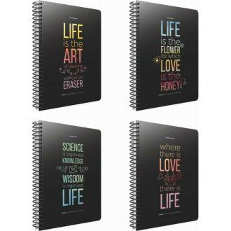 GIPTA τετράδιο σπιραλ life book Α4 3θ 3-70-11
